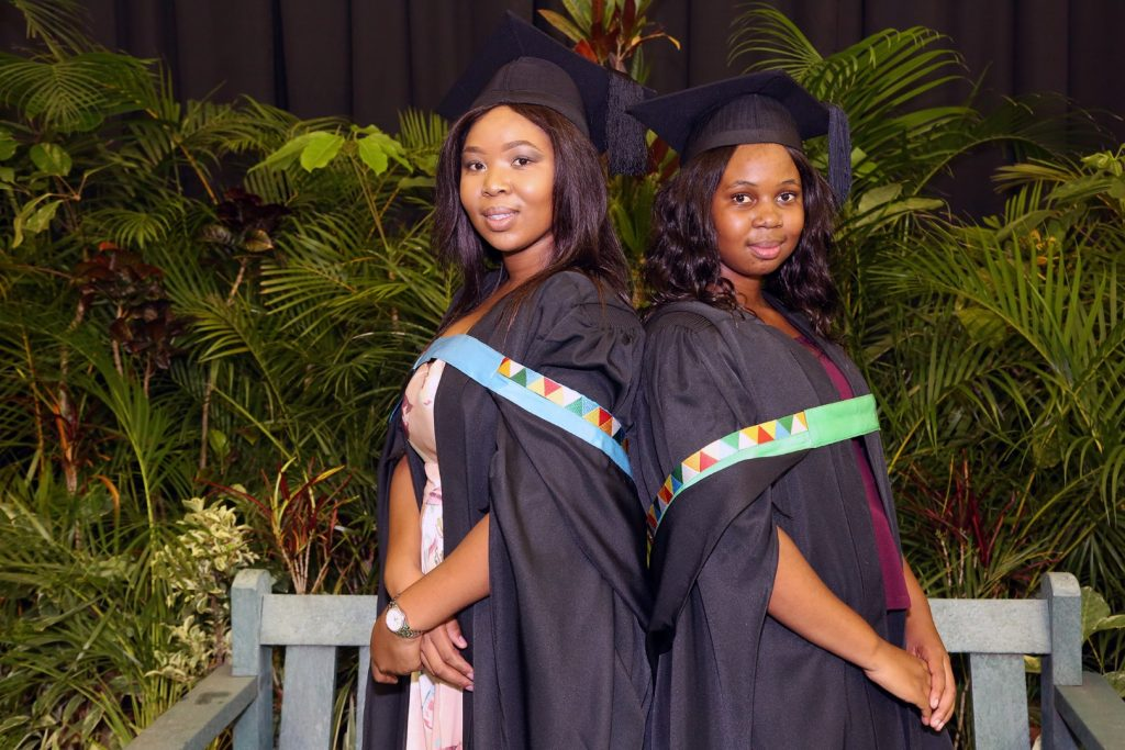 Sisters graduate with postgraduate degrees from UKZN