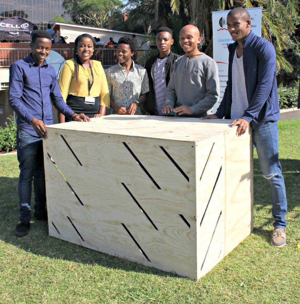 Architecture students design & build chicken coops for Green Camp Gallery Project