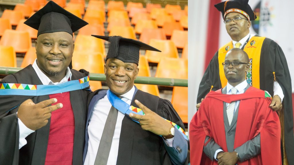 Centre for Civil Society produces five graduates