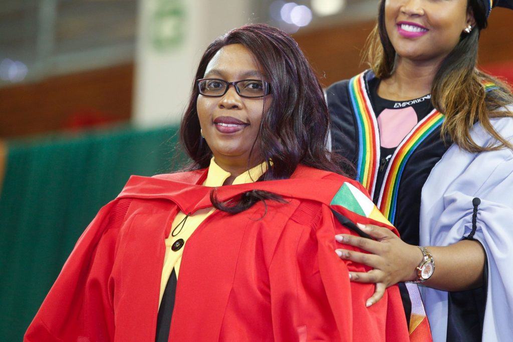 UKZN Staff member graduates with PhD for research on quality higher education
